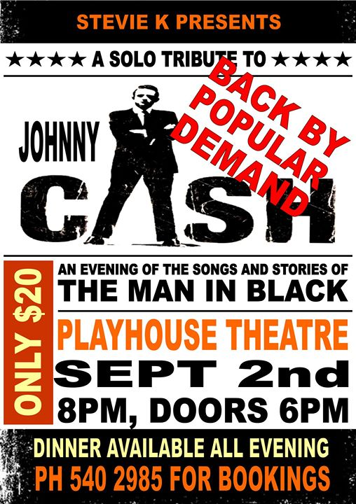 Johnny Cash Tribute Night Presented By Stevie K The