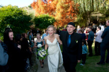 Kay and Jamie Wedding ceremony