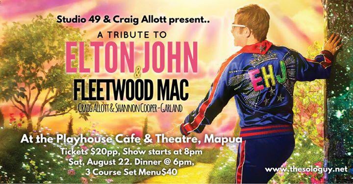 Fleetwood Mac and Elton John Tribute SOLD OUT in show added on Dec 19th